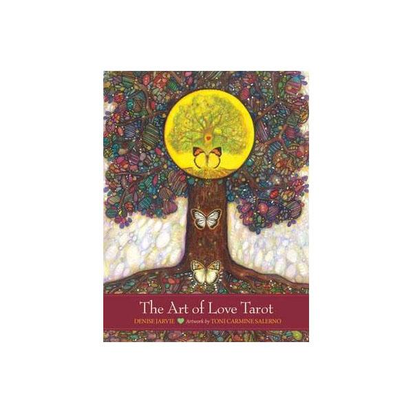 tarot cards  the art of love tarot  amanti moon